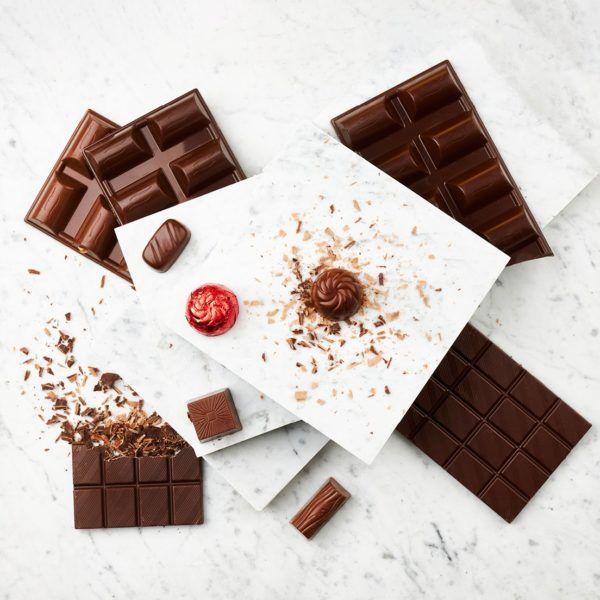 Chocolate and pralins